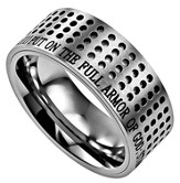 Armor of God Sport Men's Ring Silver, Size 13 (Ephesians 6:11)