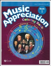Music Appreciation: Book 1 for  Elementary Grades, Coloring Book