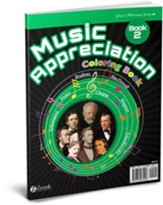 Music Appreciation: Book 2 for  Middle Grades, Coloring Book