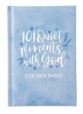 101 Quiet Moments With God Giftbook, Blue