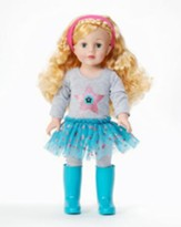 Twinkling Turquoise Doll, Blonde