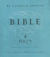 NRSV XL Catholic Edition - Slightly Imperfect