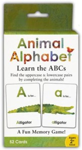 Animal Alphabet and Numbers Matching Game