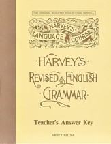 Harvey's Revised English Grammar Answer Key