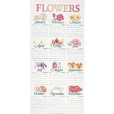 Traditional Flower Chart Tube