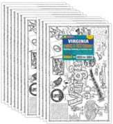 VA Symbols & Facts Funsheet Pack of 30