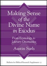 Making Sense of the Divine Name in the Book of Exodus: From Etymology to Literary Onomastics