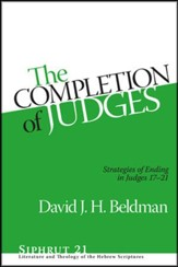 The Completion of Judges: Strategies of Ending Judges 17-21