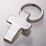 God's Faithfulness Keyring in Metal Case