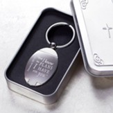 Jeremiah 29:11 Keyring in Metal Case