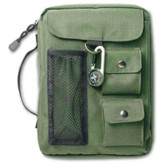Compass Bible Cover Olive Green Large