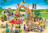 Large City Zoo Playset