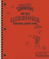 Galactic Starveyors VBS: Missions Rotation Leader Guide With DVD  - Slightly Imperfect