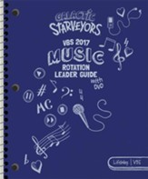 Galactic Starveyors VBS: Music Rotation Leader Guide With DVD