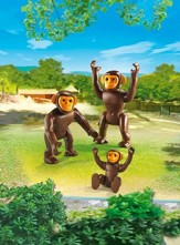 Playmobil Chimpanzee Family Accessory