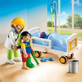 Playmobil Doctor With Child Accessory