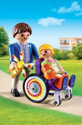 Playmobil Child In Wheelchair Accessory
