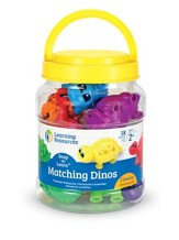 Snap-n-Learn Matching Dinos, 18 Pieces