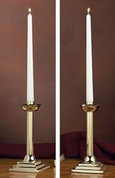Brass Candlesticks, Set of 2
