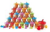 Alphabet Acorns Activity Set, 78 Pieces