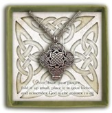 Celtic Knot Prayer Locket