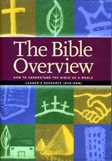 The Bible Overview Leader's DVD-ROM
