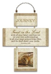 Journey, Cross Wall Plaque