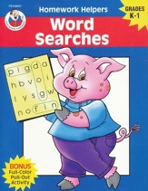 Word Searches (K-1) Homework Helper