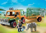 Ranger's Truck with Elephant