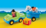 Playmobil Car With Horse Trailer Accessory