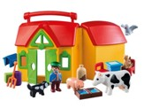 PlayMobil Take Along Farm Playset