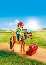 Playmobil Groomer With Bloom Pony Accessory