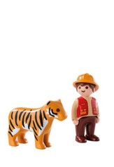PlayMobil Gamekeeper with Tiger
