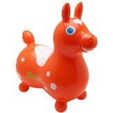Rody Inflatable Hopping Horse, Orange