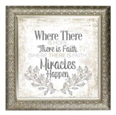 Where There Is Hope, There Is Faith Framed Decor