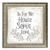 As For Me and My House Framed Decor