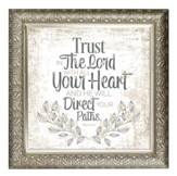 Trust In the Lord With All Your Heart Framed Decor
