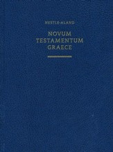 Novum Testamentum Graece, Nestle-Aland 28th Edition, wide margin