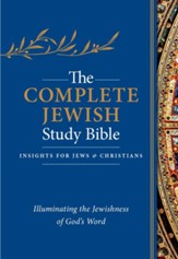 The Complete Jewish Study Bible, Flexisoft, Dark Blue, Thumb  Indexed
