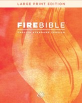 Fire Bible: English Standard Version, Large Print edition, bonded leather