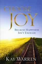 Choose Joy: Because Happiness Isn't Enough, Hardcover  - Slightly Imperfect