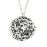 Make A Difference Pewter Necklace (18)