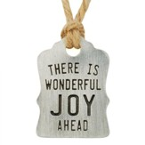 Wonderful Joy Ahead, Gift Tag