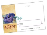 Egypt VBS 2016: Name Badges, pack of 10