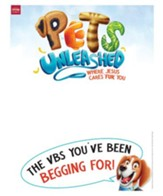 Pets Unleashed VBS: Publicity Posters, pack of 5