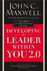 Developing the Leader Within You, 25th Anniversary Edition (slightly imperfect)