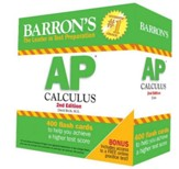 AP Calculus Flash Cards, 2nd Edition