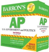 AP US Government & Politics Flash  Cards, 2nd Edition