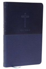 NKJV Value Thinline Bible, Imitation Leather, Blue