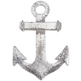 Anchor Cross Wall Art